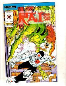 Rai # 7 NM Valiant Comic Book 1st Print Magnus Solar Turok Unity MR7