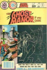 Ghost Manor (2nd Series) #62 FN; Charlton | save on shipping - details inside