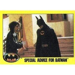 1989 Batman The Movie Series 2 Topps SPECIAL ADVICE FOR BATMAN #241
