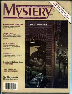 Mystery 9/1981-Dashiel Hammet-San Francisco-Hill Street Blues-WR Burnett-G
