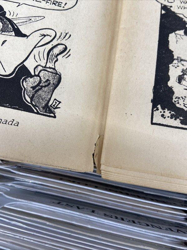 CAPTAIN GEORGE'S FRANK FRAZETTA SPECIAL 1970 + COMIC WORLD #15 PORTFOLIO 2 ISSUE