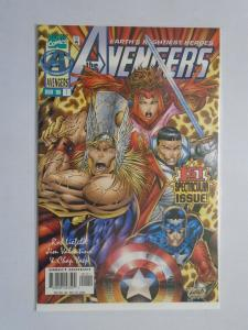 Avengers (2nd Series) #1A, DIRECT EDITION, 8.0/VF, (1996)