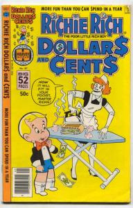 Richie Rich Dollars and Cents #87 1978- Robot cover FN