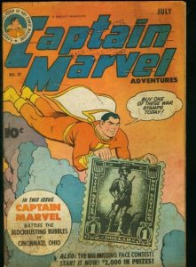 CAPTAIN MARVEL ADVENTURES #37-FAWCETT-MARY MARVEL G/VG