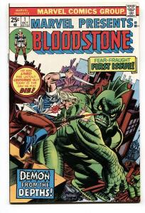 MARVEL PRESENTS  #1 comic book 1975-1ST ISSUE 1ST BLOODSTONE