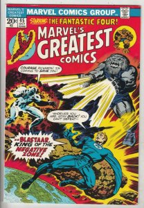 Marvel's Greatest Comics #45 (Oct-73) VF/NM High-Grade Fantastic Four, Mr. Fa...