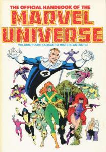 Official Handbook of the Marvel Universe (1985 series) Trade Paperback #4, NM...