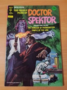 The Occult Files of Dr. Spektor #6 ~ VERY FINE - NEAR MINT NM ~ (1974,Gold Key)