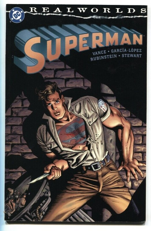 Realworlds: Superman 2000 DC trade paperback