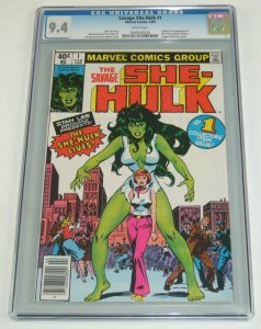 Savage She-Hulk #1 CGC 9.4 1st appearance & origin of Jennifer Walters