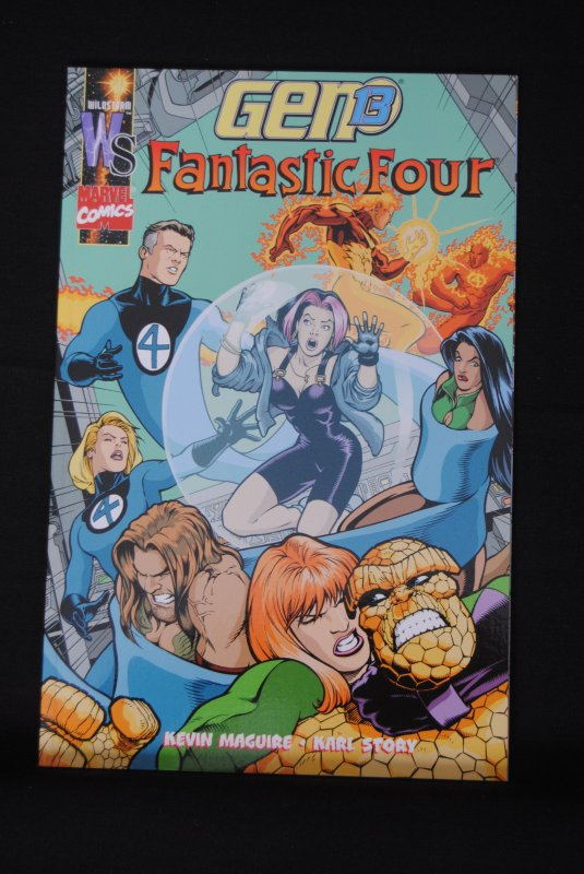 Gen 13, Fantastic Four Vol 1 TPB