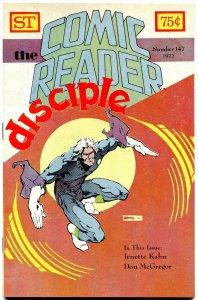 The Comic Reader Fanzine #147 Street Enterprises 1977 Marshall Rogers Cover