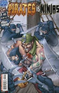 Pirates vs. Ninjas #2 VF; Antarctic | save on shipping - details inside