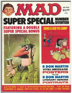 MAD SPECIAL (1975) 17 VG-F DON MARTIN POSTERS