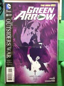 Green Arrow #29 The New 52