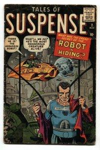 Tales of Suspense #2 comic book Marvel-Jack Kirby-Steve Ditko-1959