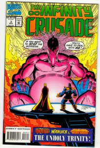 INFINITY CRUSADE #3 (FN/VF) No Reserve! 1¢ Auction!