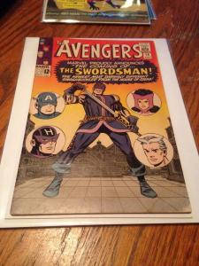 Avengers 19 VG- Restored Trimmed could use a press 1st Appearance the Swordsman