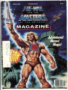 He-Man and the Masters of the Universe Magazine #1 1985-First issue