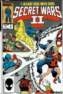 Secret Wars II, #4, 9.0 or Better