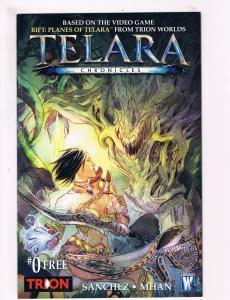Telara Chronicles # 0 VF/NM 1st Print Wild Storm Comic Book Sanchez Mhan Art S63