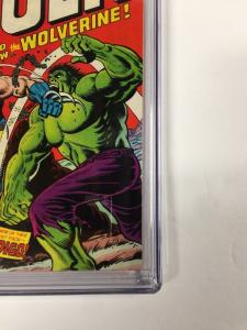 Incredible Hulk 181 Cgc 9.8 White Pages Perfect Centering Gem 1st Wolverine