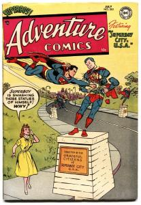 Adventure Comics #202 1954- Superboy- Aquaman- Green Arrow. high grade