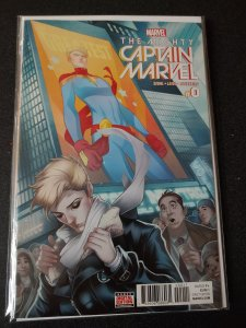 THE MIGHTY CAPTAIN MARVEL #0 LAISO VARIANT EDITION