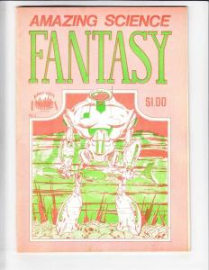 Amazing Science Fantasy #1 FN early john byrne - dave sim - frank cirocco 1975
