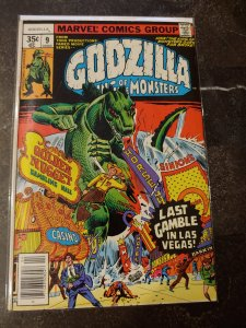 GODZILLA KING OF MONSTERS #9 FINE+