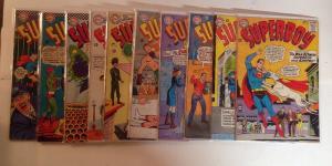 Superboy 118 120 122 123 124 125 126 127 128 130 FN Lot Set Run