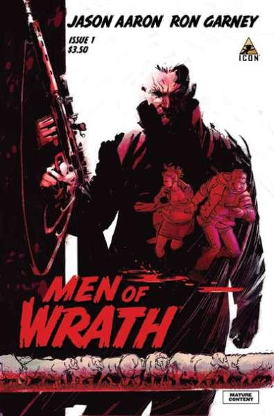 Men of Wrath #1, NM + (Stock photo)