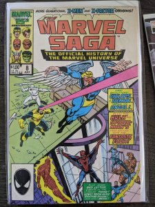 The Marvel Saga The Official History of the Marvel Universe #8 (1986)