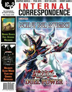ICV2 Internal Correspondence #95 Yu-Gi-Oh / D&D / MTG / Keyforge - New!