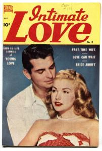 INTIMATE LOVE #12 PHOTO COVER-MAYFLOWER-PILGRIMS 1951 FN