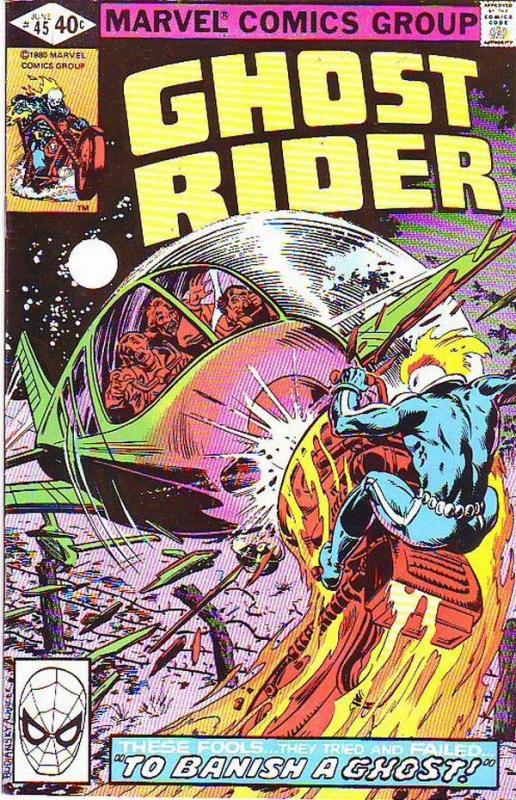 Ghost Rider, The #45 (Jun-80) VF/NM High-Grade Ghost Rider