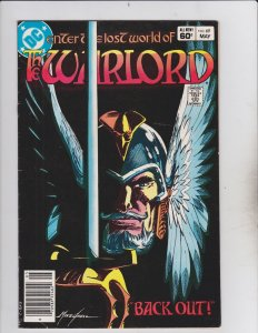 DC Comics! The Warlord! Issue 69!