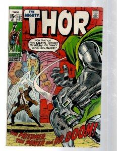 Mighty Thor # 182 VF- Marvel Comic Book Loki Odin Asgard Sif Avengers Hulk RB8