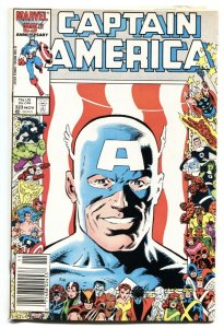 Captain America #323 1986- 1st John Walker Super Patriot-VF-