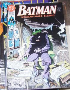Batman #450 (Jul 1990, DC) JOKER WOLFMAN/APARO