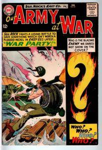 OUR ARMY AT WAR #151 1965-DC WAR COMIC-SGT. ROCK-FIRST ENEMY ACE-VG/FN VG/FN