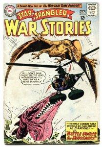 Star Spangled War Stories #115 1964- Dinosaur issue VG