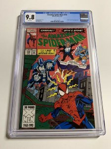 Amazing Spider-man 376 Cgc 9.8 White Pages Marvel