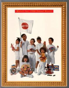 Mattel Toys Annual Report- Business Info 1996-Hot Wheels-financial info-VF