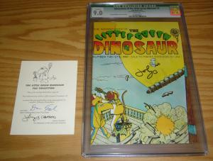 Adventures of the Little Green Dinosaur #2 CGC 9.0 signed with COA one of a kind