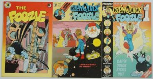 Cap'n Quick & A Foozle #1-3 FN complete series eclipse comics marshall rogers