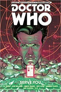 Doctor Who: The Eleventh Doctor HC #2 VF/NM; Titan | save on shipping - deta