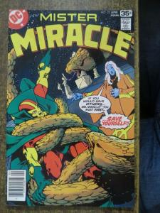 MISTER MIRACLE 23 F Mike GOLDEN! 4/1978 COMICS BOOK