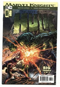 Incredible Hulk #72 1st Iron Man Gamma Radiation armor 2004