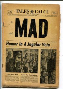 MAD #16 1954-EC-WALLY WOOD-JACK DAVIS-SHERLOCK HOLMES PARODY-BILL ELDER-fr/good